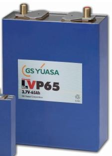 Li-ion cells from GS Yuasa