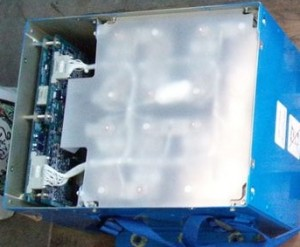 Dreamliner battery wit top removed